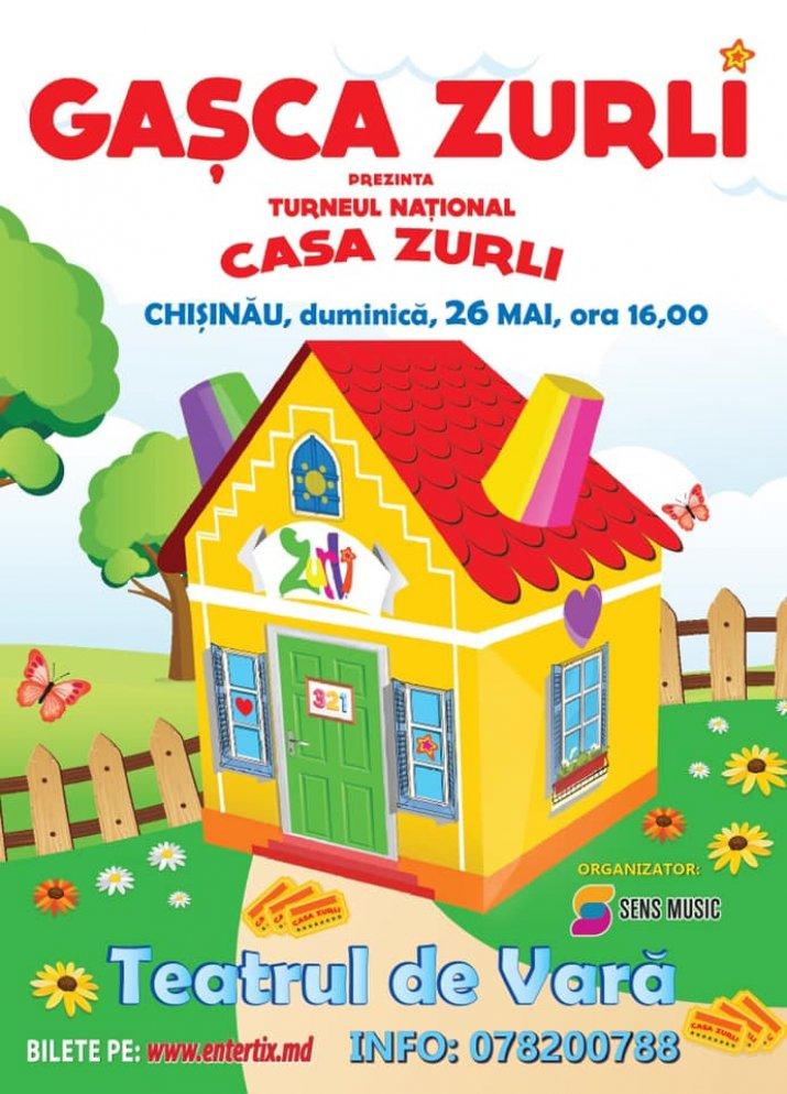 Gașca Zurli Revine La Chișinău Noutăți Zurliro